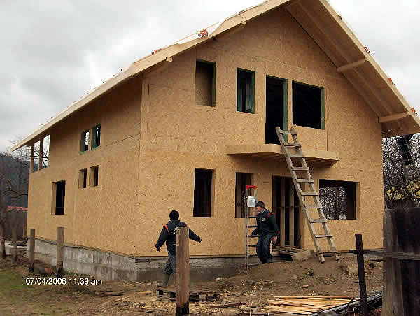 Doxar grup specialistul in constructii din lemn casa for Vedere case online